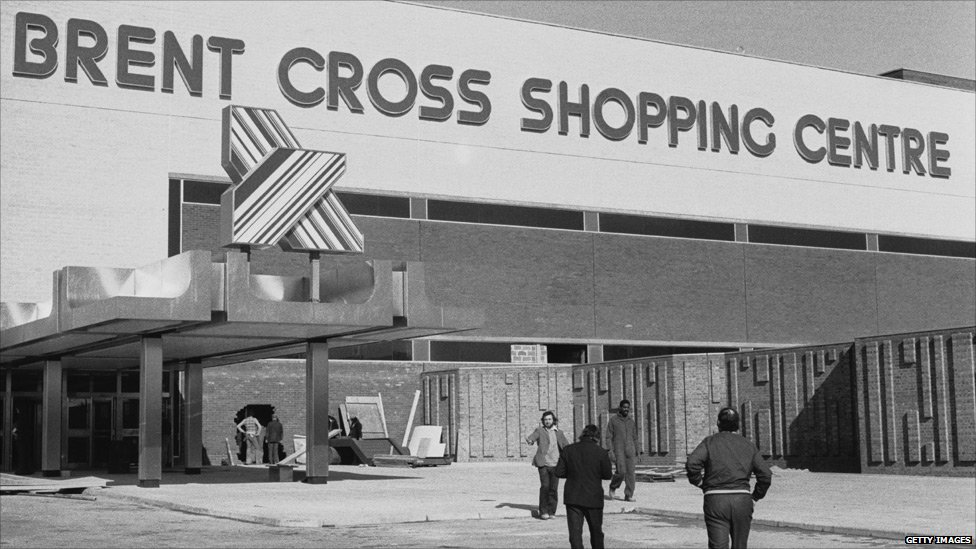 Brent cross in the 1970s
