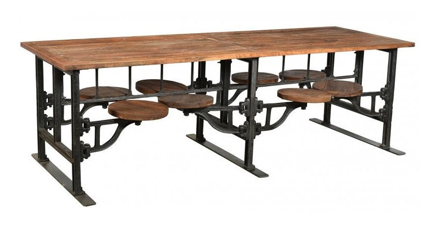 The Springfield Round Cafe table 750mm
